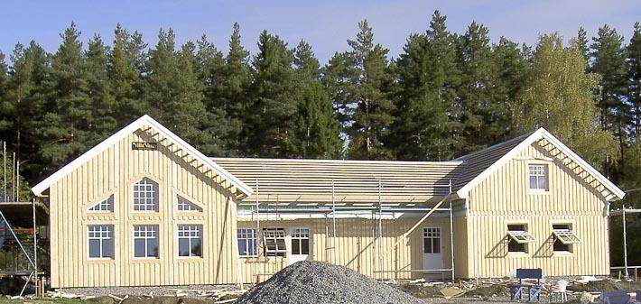 H-format 2-planshus i Enhörna