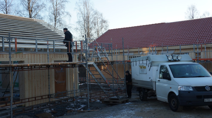 Garage stomrest Villa Varm
