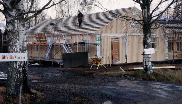 Stomrest enplanshus Villa Varm