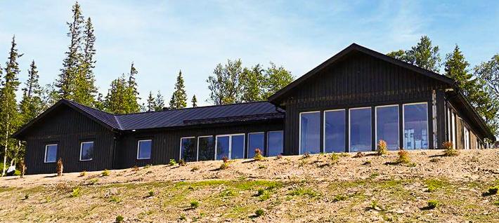 Fjällhus stomrest i Edåsdalen