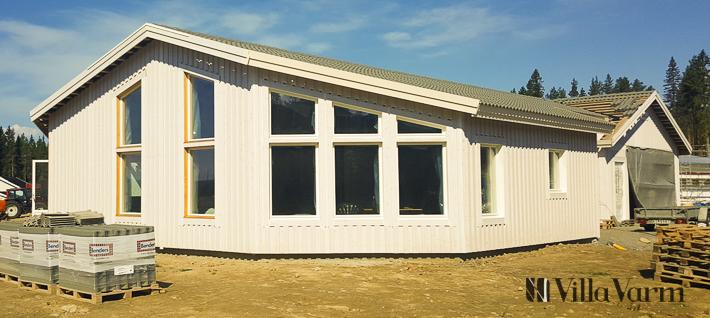 Modernt enplanshus med garage i Skellefteå