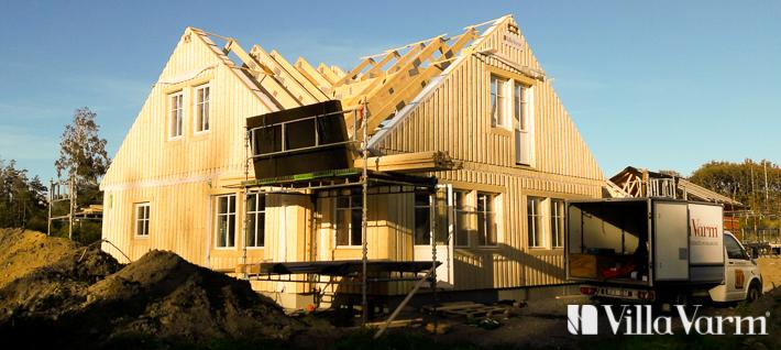Villa Varberg - vinkelhus med övervåning