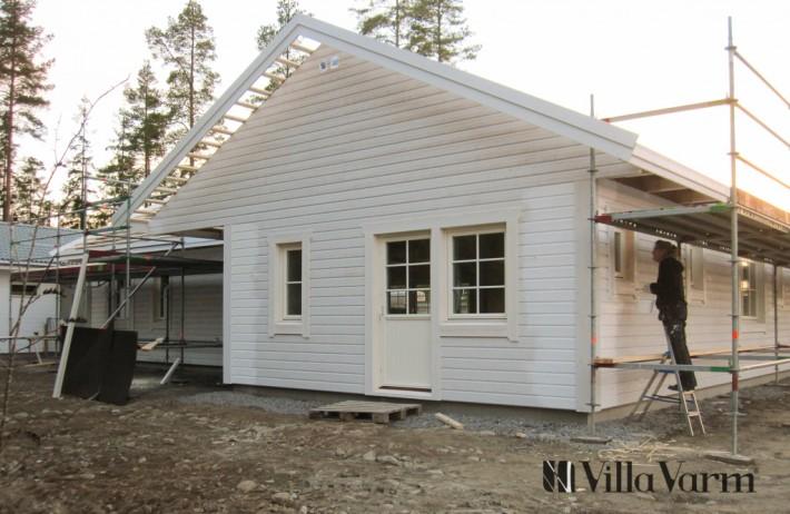 seniorvilla med liggande panel